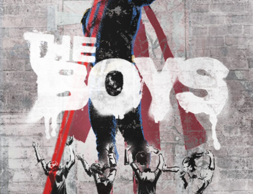 Sideways Superhero Program The Boys Starring Karl Urban comes to DVD / Blu Ray