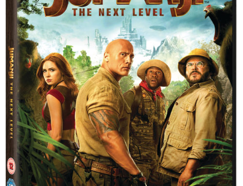 Jumanji: The Next Level Blu Ray Special Features.
